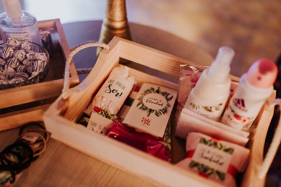 kit para baños bodas