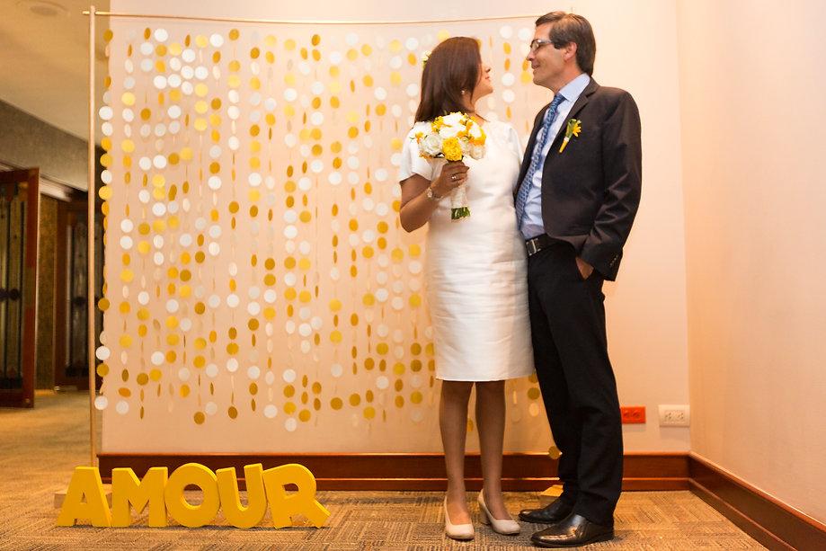 Photobooth amarillo