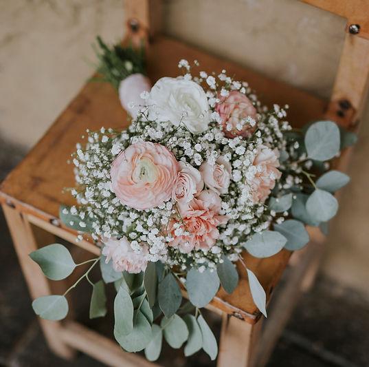 ramo de novia vintage
