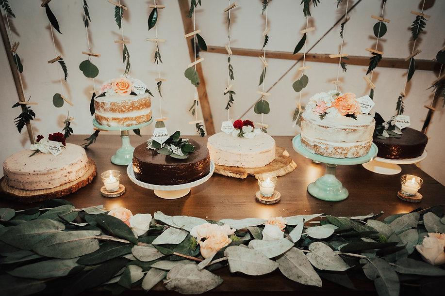 mesa de ponqués bodas