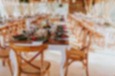 decoración boda tropical