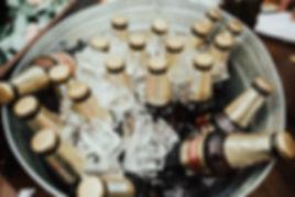 cerveza en las bodas