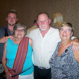 Scott, Sue, Hank & Eveline