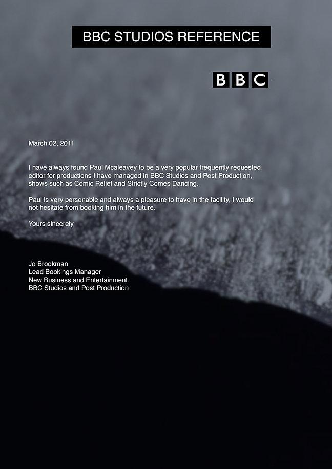 BBC Studios Reference