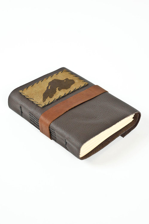 Lake Superior Leather Travel Journal