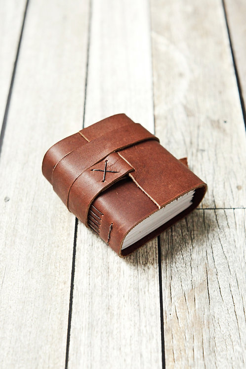 Leather Journal / Chunky Travel Journal