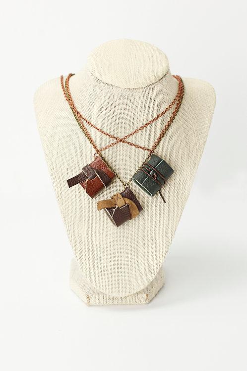 Mini Journal Necklace