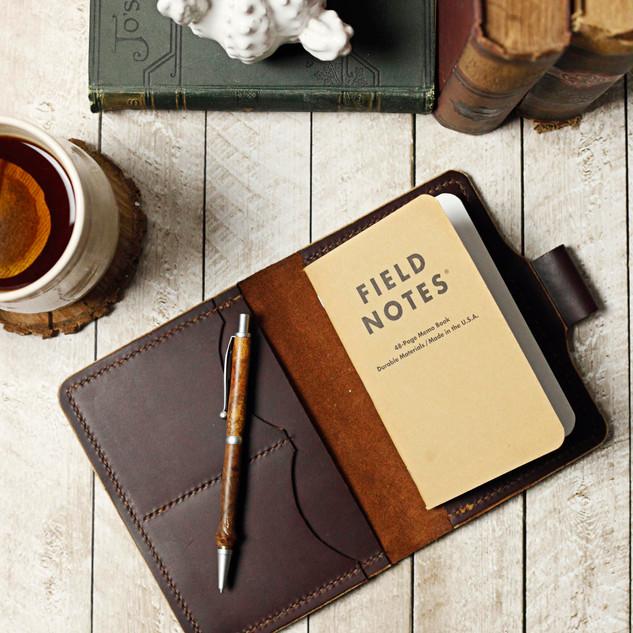 Leather Field Note Wallet