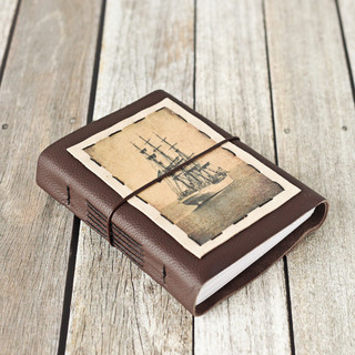 Leather Tall Ship Journal