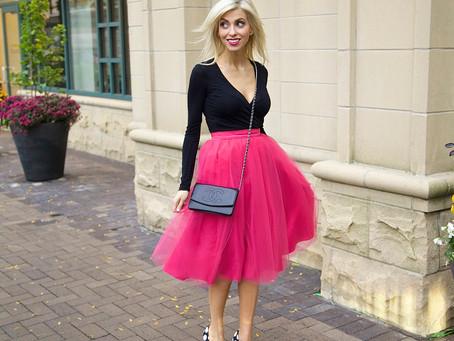 Chicago Fashion Influencer Jennifer Lane Advises, Don't Throw Away That Unworn Skirt