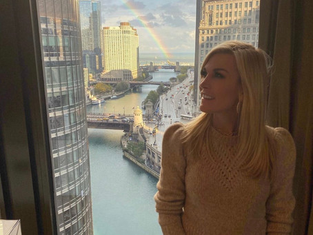 Tinsley Mortimer Cozies Up to Scott Kuth at TAO Chicago