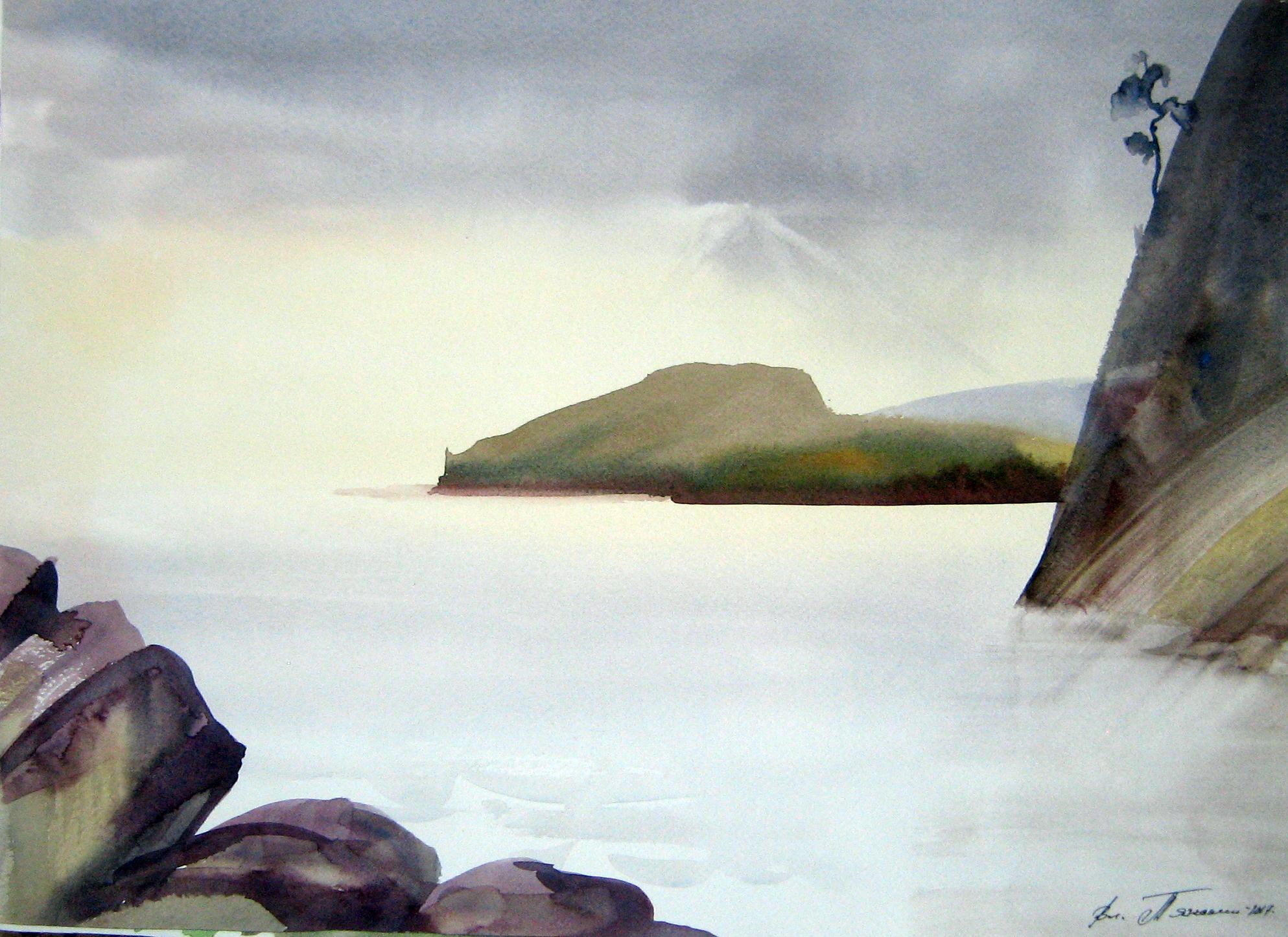 крымские скалы