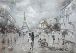 париж 2017 Х.М. 50x70