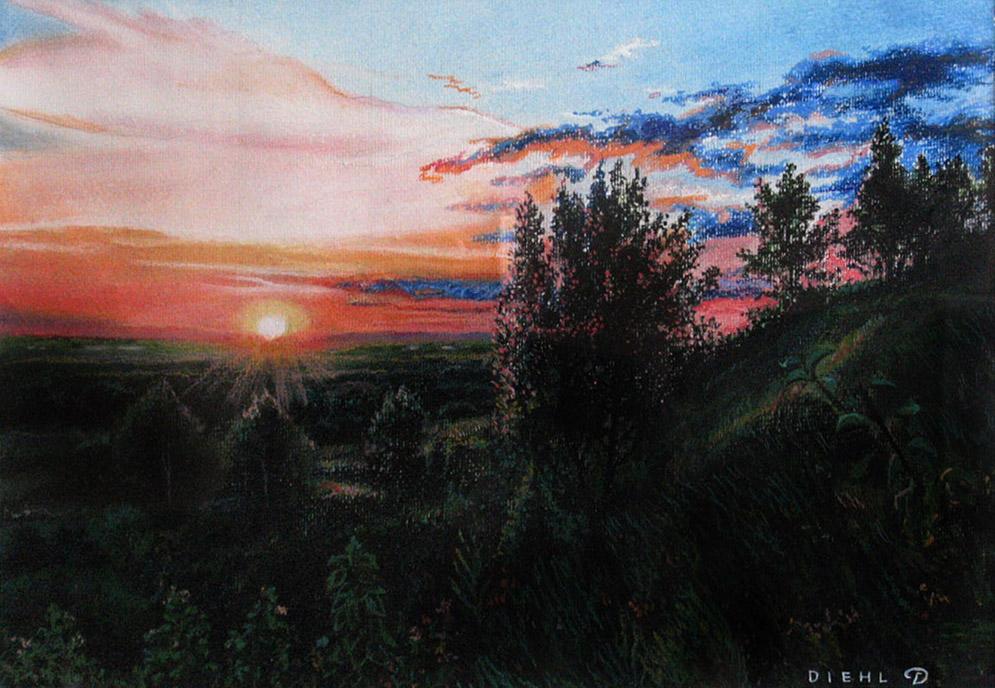 68_Закат с. Семион-пастель30х42 2012 г..jpg