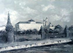 МОСКВА 2017 Х.М. 50x70