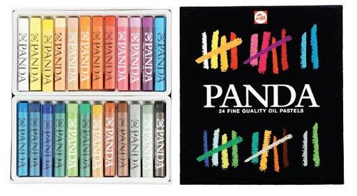 צבעיי פנדה חבילה גדולה