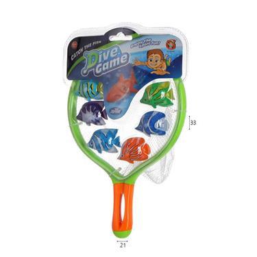 משחק צלילה דגים
