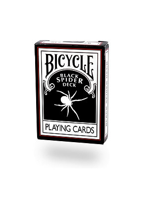 קלפים בייסיקל Black Spider Deck