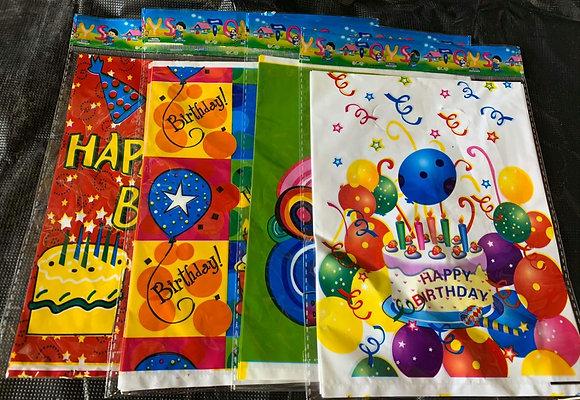 שקיות יום הולדת 5 יחידות