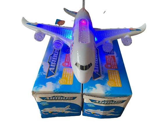 מטוס עם סוללות