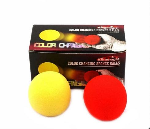קסם כדורי ספוג משנים צבע