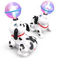 כלב סוללה כדור אורות
