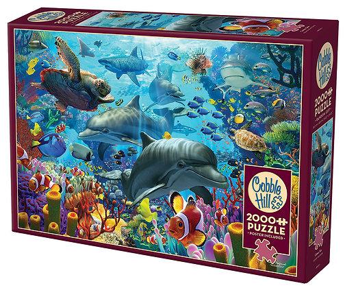 פאזל 2000 חלקים ים האלמוגים