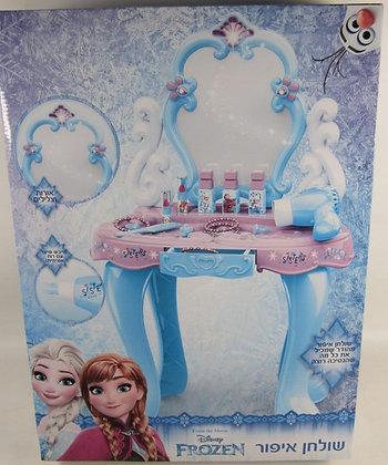 שולחן איפור אנה ואלזה