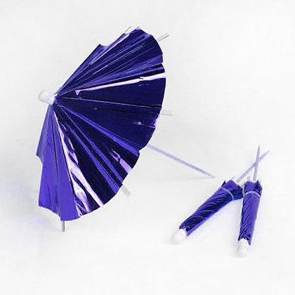 קיסם לעוגה מטרייה כחול 12 יחידות