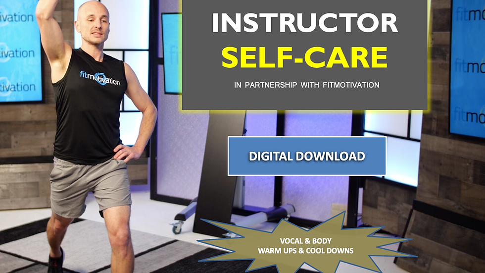 Instructor Self-Care