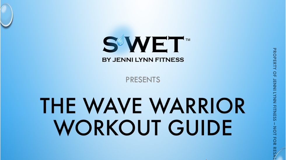 Wave Warrior Workout Guide