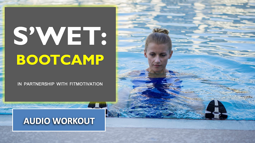 S'WET Bootcamp Audio Workout