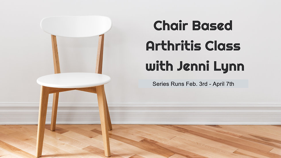 Chair Based Arthritis Class