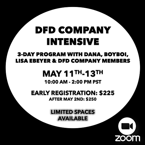 3-Day Company Intensive - May 11-13