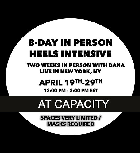 Heels Intensive: April 19-29 (NYC)