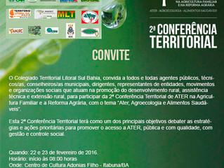 Conferência de ATER Território Litoral Sul