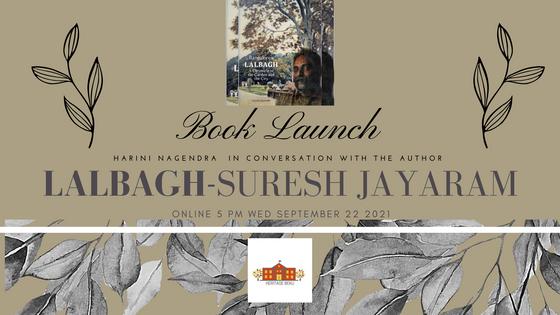 Book Launch - Lalbagh by Suresh Jayaram