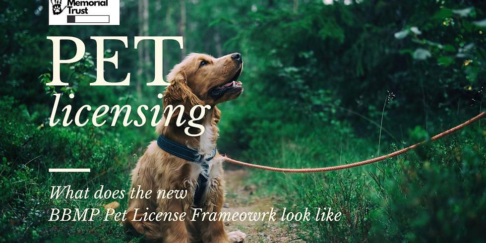Understanding the  Proposed BBMP Pet Licensing