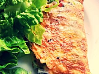 Vegetable Omelette