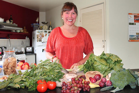 Sara-Jane Cleland Food Educator created Naturopathic Cooking School