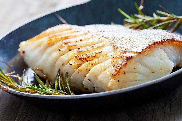 Pan fried Barramundi Fish