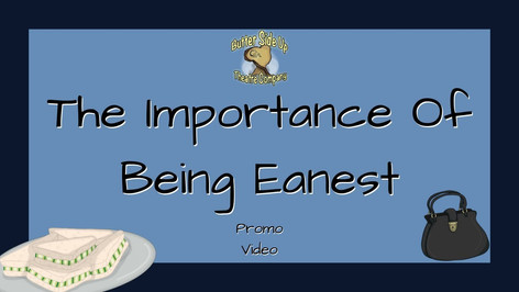 The Importance Of Being Earnest Promo Video