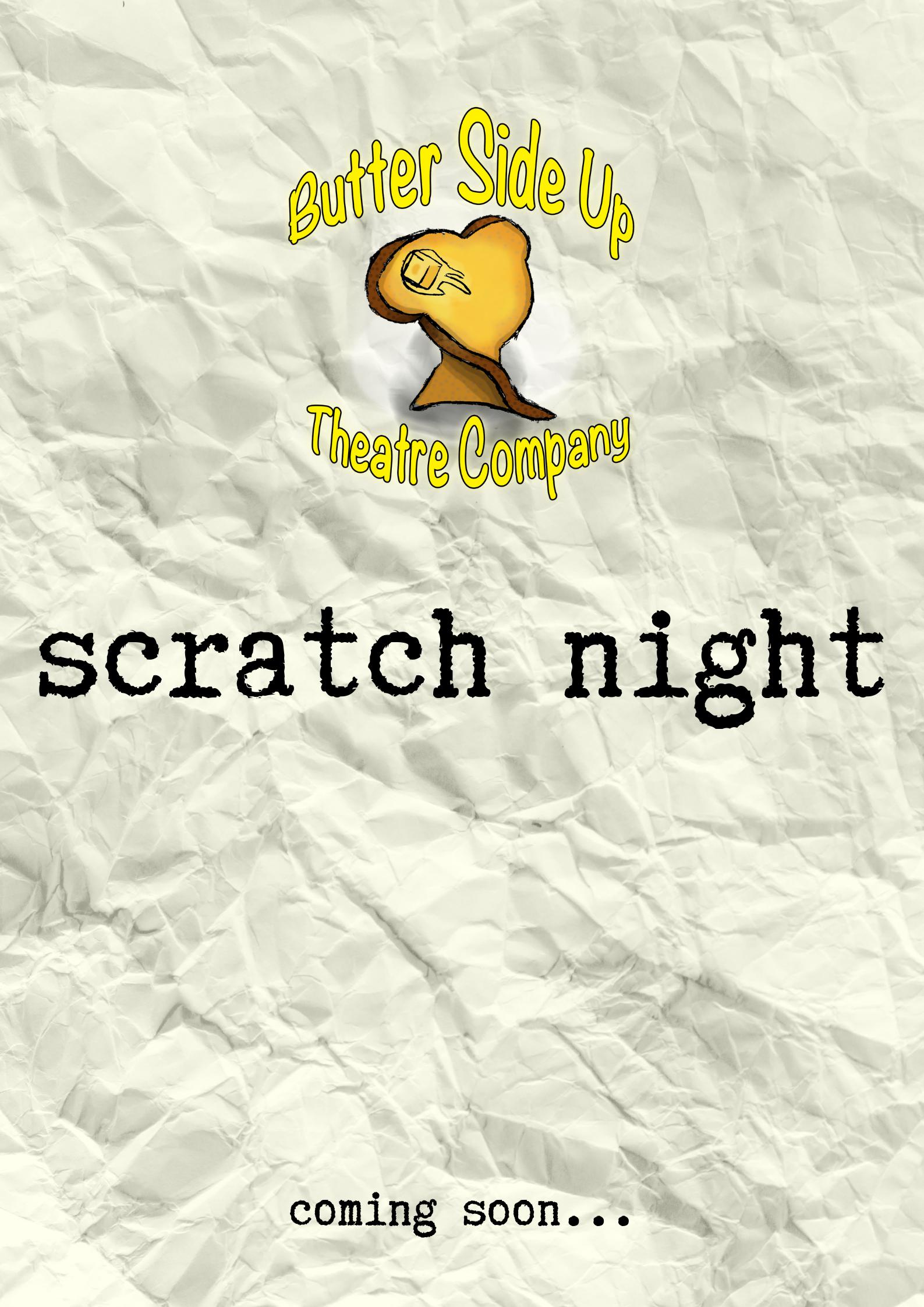 Scratch Night Poster