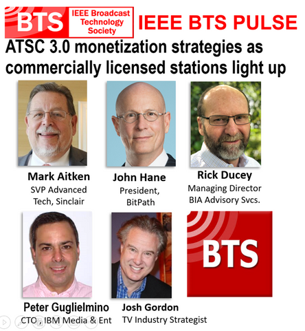 ATSC 3.0 Monetization at IEEE BTS Pulse