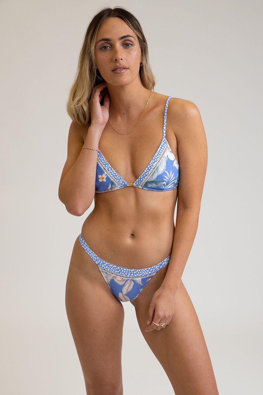 Islamorada Bralette Bikini Top by Rhythm