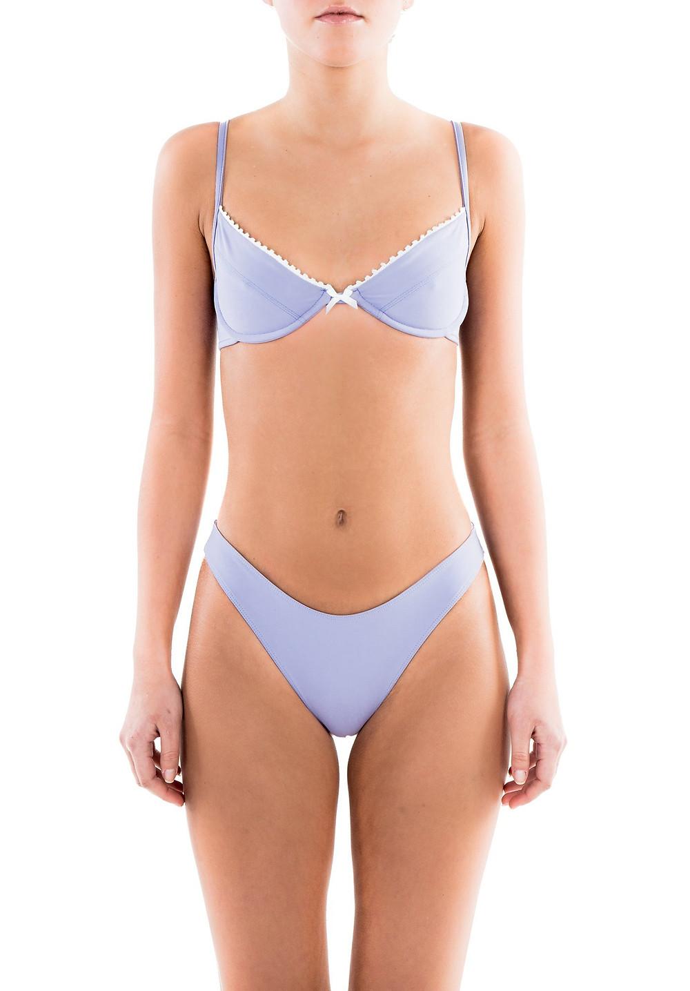 Bella Bra in Lavender by Bamba Swimwear