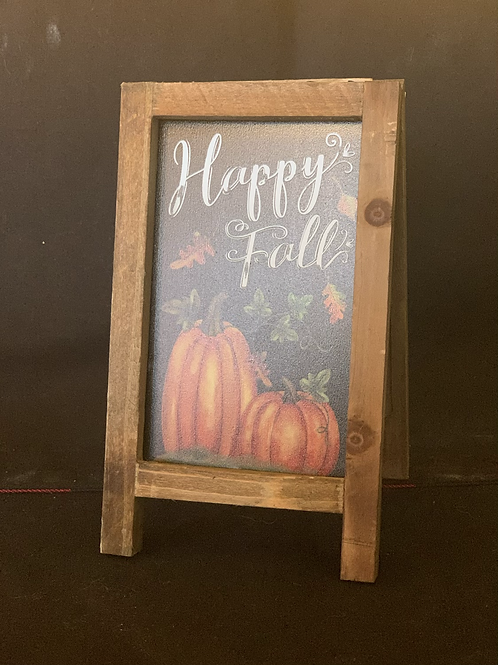 Fall & Christmas Double Sided Easel