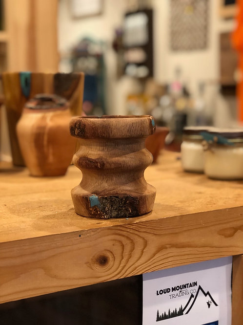 Handcrafted Wooden Trinket Holder - OAK