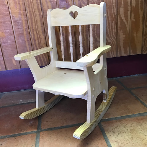 Handcrafted Child's Rocking Chair