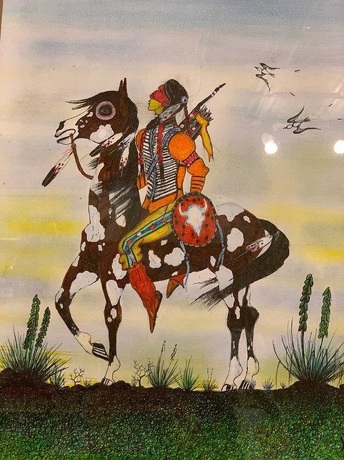 Warrior - Indian Art